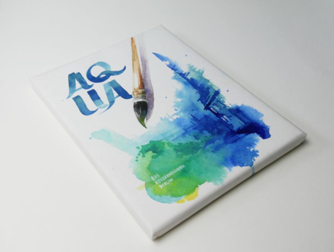 Der erste Keilrahmen für Aquarellfarben  von MH&P